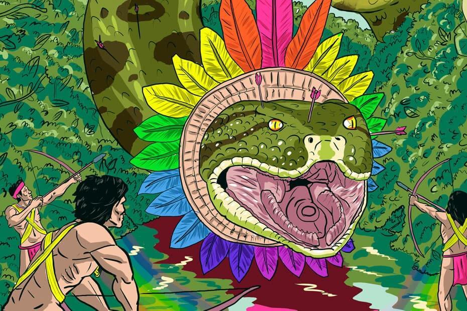 Wiyu. La serpiente emplumada