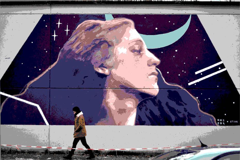 Monstruas del arte urbano: María Noel