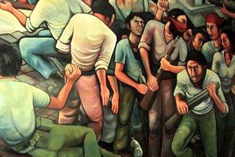 La Brigada Muralista Felicia Santizo en Nicaragua