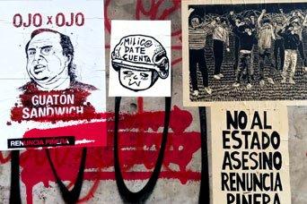 En Chile, el pueblo vuelve a cantar y sus paredes vuelven a hablar