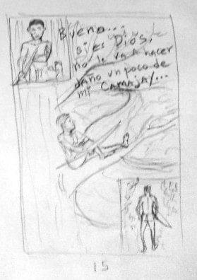 """Proceso detrás del libro de cómic """"El pueblo donde mataron a dios"""""""