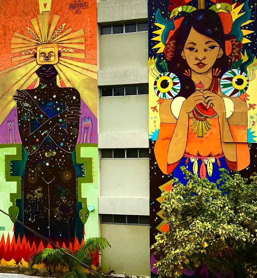 Monstruas del arte urbano: Eva Bracamontes