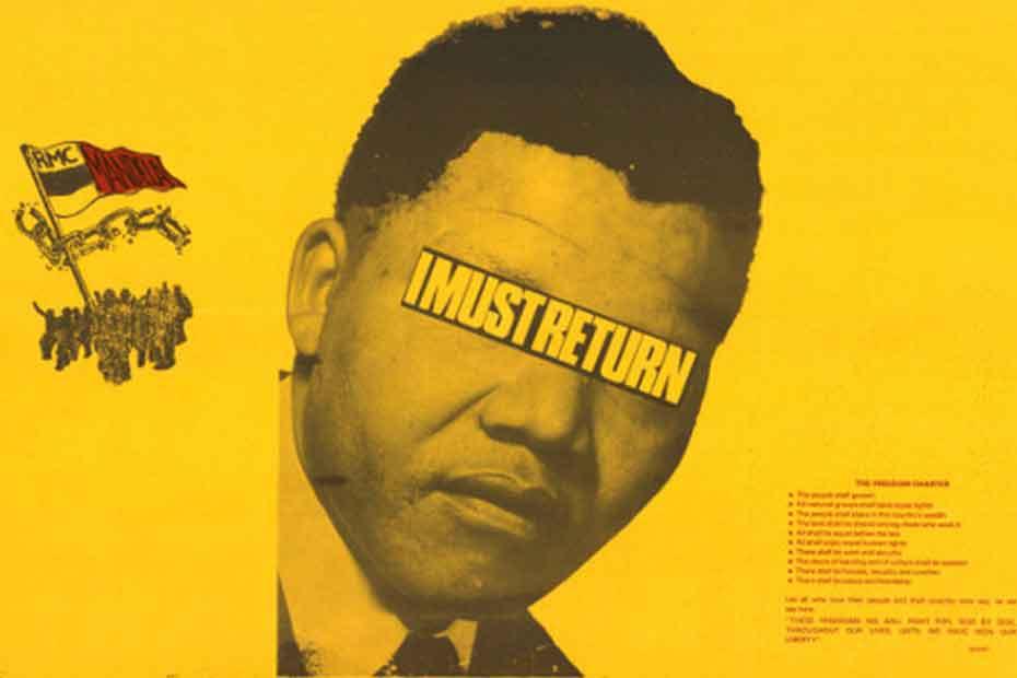 La lucha por la liberación de Mandela contada en 10 carteles
