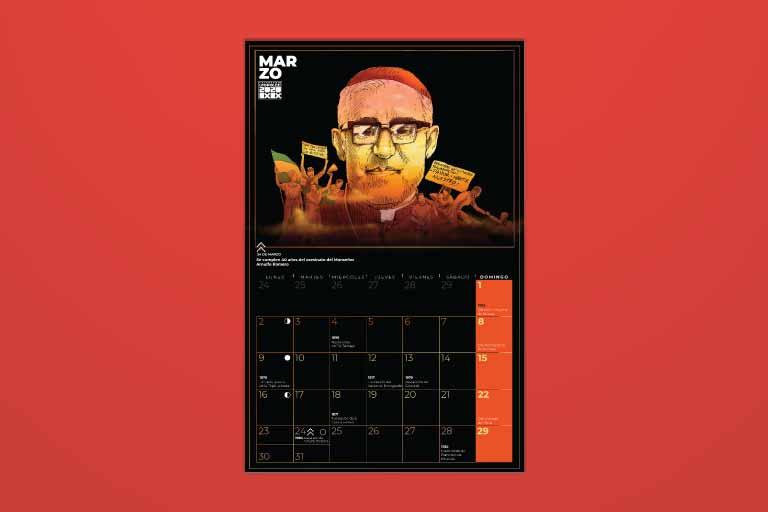 Calendario Marzo 2020