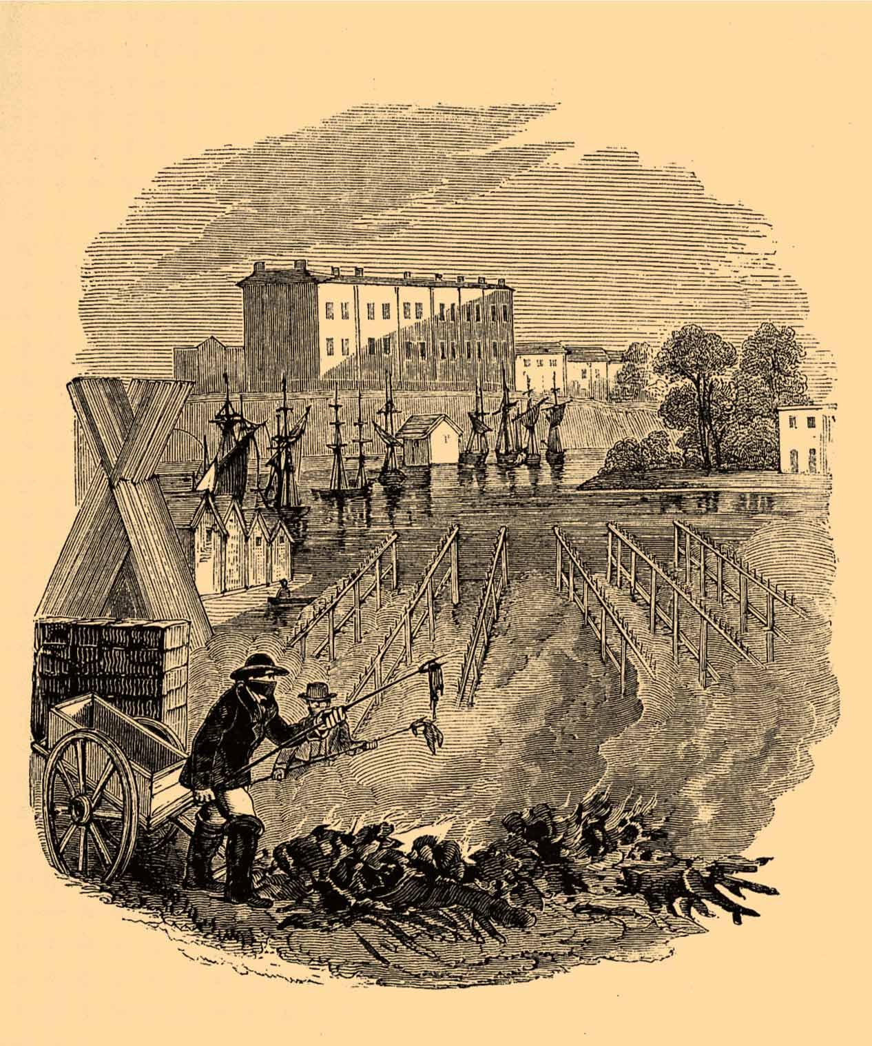 Exeter Inglaterra cólera