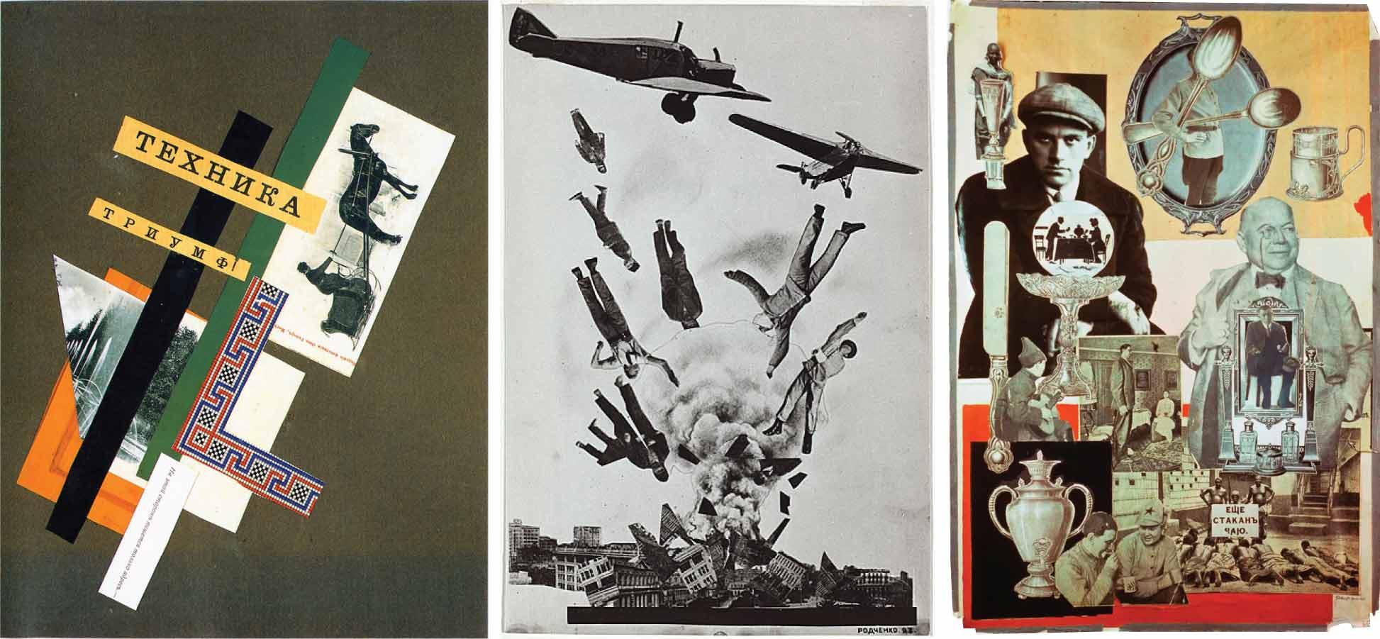 Collages y maquetas de Ródchenko