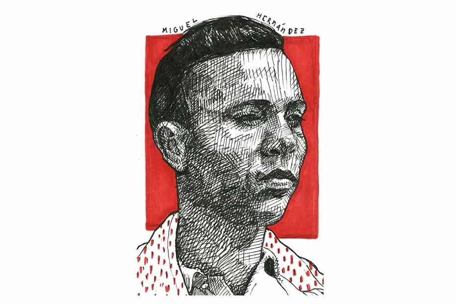 El poema «Guerra» de Miguel Hernández