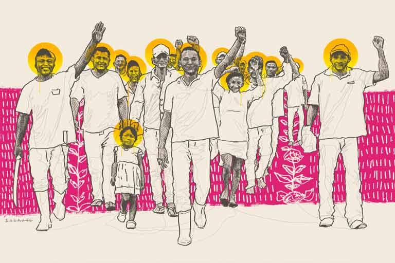 La lucha en el rescate del hato Palo Quemao