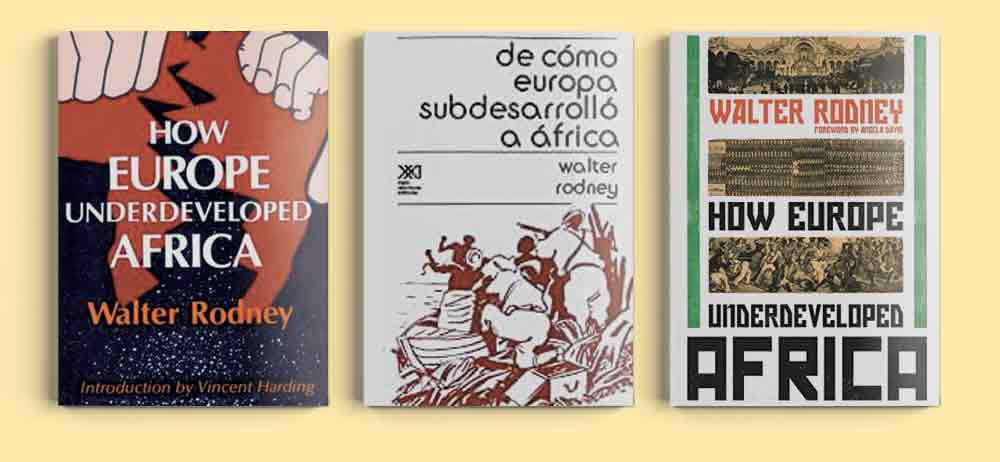 Walter Rodney libros