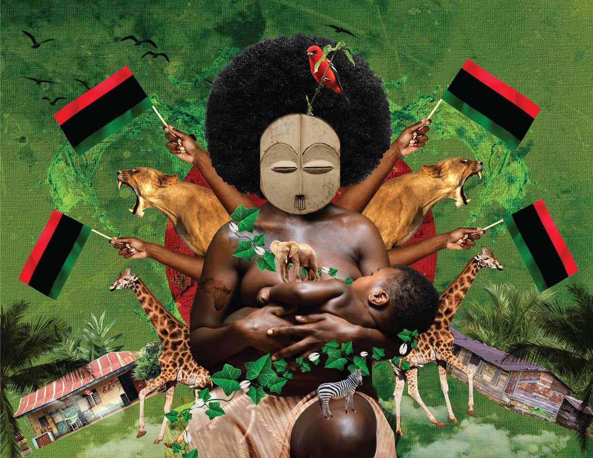 Bandera panafricana cacicahonta