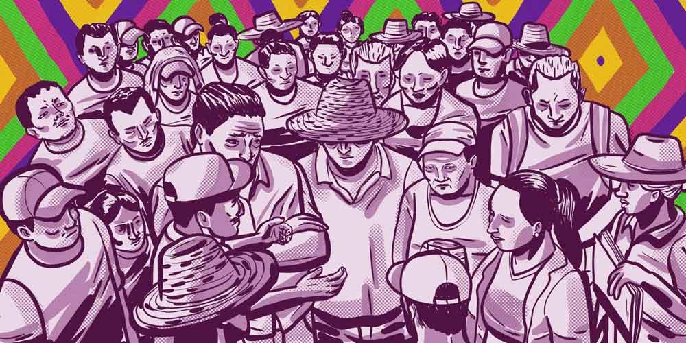 Por la justicia en el campo: la marcha sigue