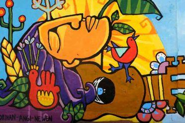 Monstruas del arte urbano: Newen Che