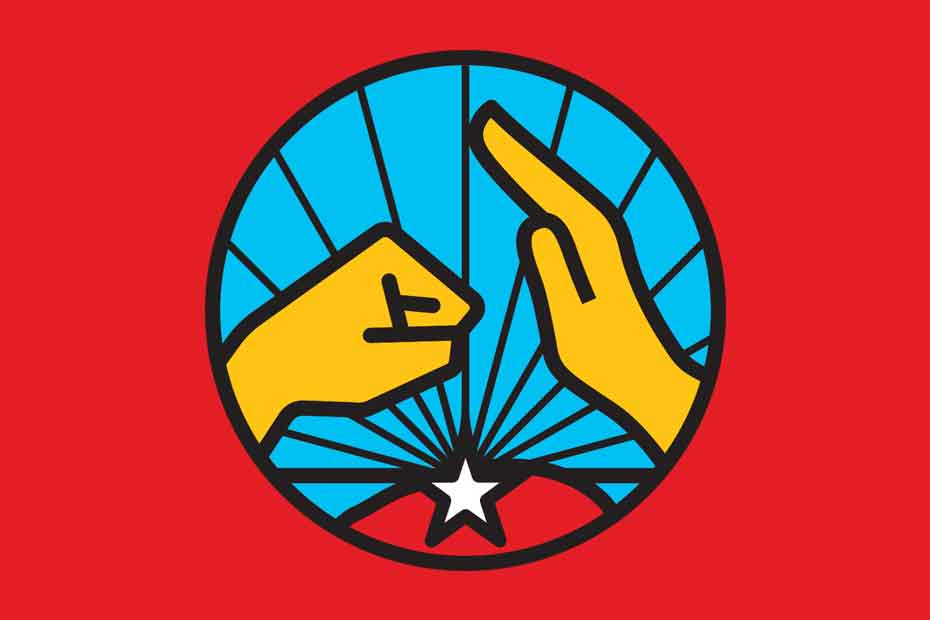 El emblema de la Unión Comunera